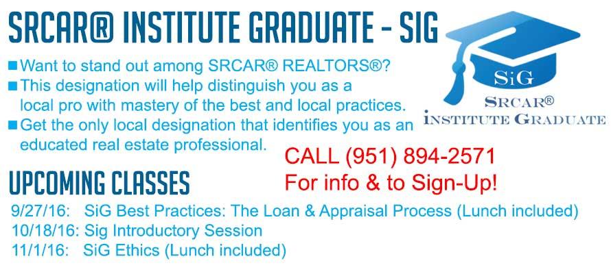 SiG: SRCAR's Designation!